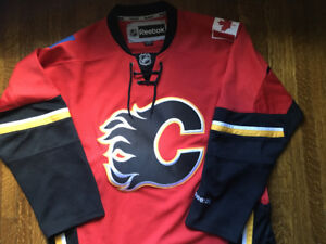 Official NHL Calgary Flames Reebok jersey