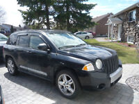 2007 Jeep Compass Limited SUV, Crossover avec garantie 3 ans