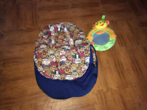 Car seat infent winter cover and mirror