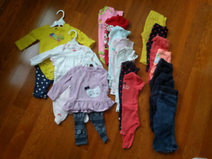 Girls 6-12 Month Lot EUC