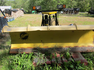 7 1/2ft Fisher Minute Mount Plow