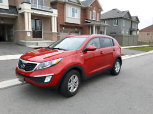 2013 Kia Sportage LX AWD only 29000 km no accident or claim