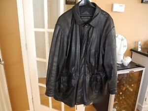 Manteau de cuir 3/4, 3XL pour homme. Gatineau Ottawa / Gatineau Area image 2