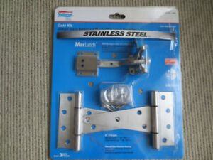 Stainless Steel Gate Hinge Latch Kit *BEST OFFER*