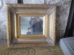 """Approx. 16"""" X 16"""" Beautifully Framed Mirror -Excellent Condition"""