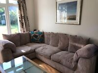 Large, comfy corner Sofa purchased from DFS