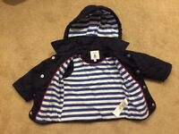 Baby Quilted Jacket 9-12 months
