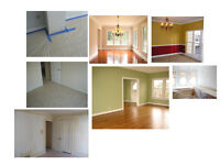 Home Renovation Flooring + Painting (Low Price Best Offer)