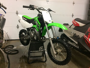 2015 KX 65 2 stroke never raced and never track ridden