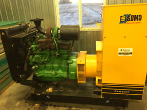 NEW ...Stand-By John Deer generator diesel 3hrs on the clock