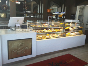 PASTRY AND CHOCOLATE  DISPLAY