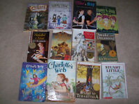 40 books for a girl 6-12 yrs. Old.  These are all in really grea
