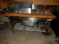 GAS STAINLESS STEAM TABLE  $1,650.00