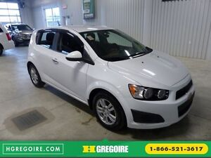 2014 Chevrolet Sonic LT A/C Gr-Électrique Camera Bluetooth