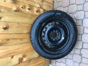 4 Winter Tires and Rims 235/55R17