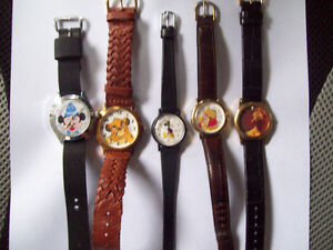 RARE MICKEY MOUSE WATCH  and TIMEX LION KING WATCH London Ontario image 6