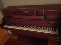 Piano and Bench - very cheap!