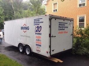 2010 16' enclosed trailer