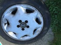 Volvo tires and mag rims