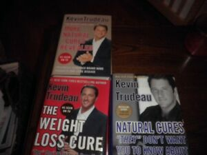 Books for Natural Cures By Kevin Trudeau (English)