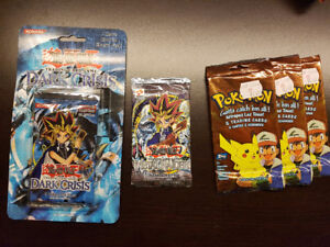 SELLING YU-GI-OH AND POKEMON BOOSTER PACKS