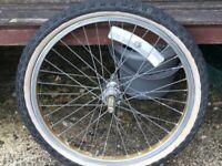 Raleigh burner mk1 wheels old school bmx