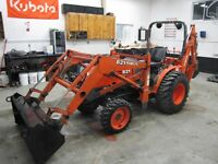 One owners, Kubota B21 500 hrs and Kubota L-3430 with cab