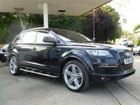 2012 AUDI Q7 3.0 TDI QUATTRO S LINE PLUS 7 SEATS ESTATE DIESEL