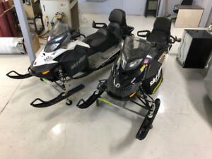 2016 MXZ Sport 600 and 2013 Grand Touring Sport 600