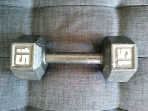 15-lbs Dumbbell