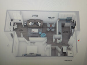 Luxurious Living 1 BR + Den (Available Now) - 1 Month rent free