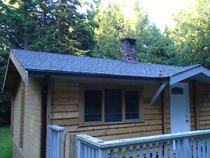 Galiano Island Cedar Log Home vacation rental