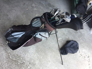 Alien Golf Club set (lightly used grandpa's old clubs)