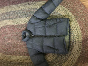 MEC Down Filled Grey Winter Jacket