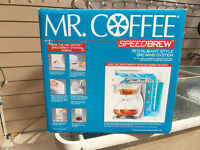 ****REDUCED***MR. COFFEE SPEEDBREW DSP 10 **NEW IN BOX**