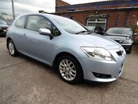 Toyota Auris 1.6 VVT-I TR (FULL SERVICE HISTORY + LOW RATE FINANCE AVAILABLE) (blue) 2007