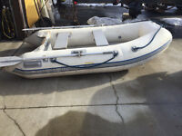 10ft Quicksilver inflatable boat