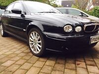 Black Beauty Jaguar X-type D S immaculate inside and out not Mercedes BMW audi Lexus *reduced price*