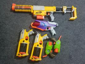 Nerf blasters bundle, postage available.