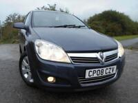 2008 08 VAUXHALL ASTRA 1.4 BREEZE 5D 90 BHP **LOW MILEAGE**LOW INSURANCE**GREAT