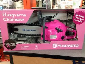 Husqvarna Pink Toy Chainsaw for Breast Cancer Awareness