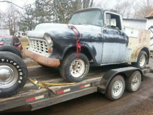 1956 Chev Truck 15 inch rims and tires