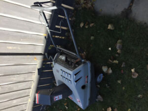 2 cycle snow blower