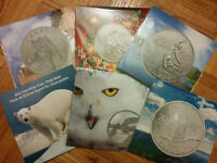 RCM (royal canadian mint) silver coins selling at face value