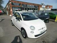 Fiat 500 1.2 ( 69bhp ) POP. FULL SERVICE HISTORY. LOW MILEAGE ONLY 68,000 MILES
