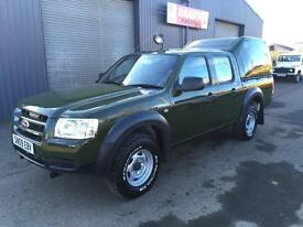 * SOLD * 2009 Ford Ranger 2.5 TDCi Double Cab *Forrestry * Wildlife Conversion*
