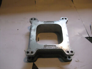 "Mr. Gasket 2"" carb spacer and fuel pump"