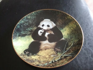 BRADFORD COLLECTABLE PLATES.....BEARS
