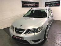 2008 Saab 9-3 2.0T SportWagon 2008MY Aero,just serviced and long MOT,bluetooth.