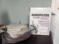 Wine Filter Pump and Replacement Filters